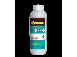УРАГАН - 1л.Препарат против мравки, мухи, комари, хлебарки, бълхи, стоножки, паяци и кърлежи